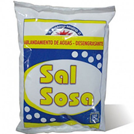 SAL SOSA SOLVAY 1Kg. (CARBONATO SODICO)