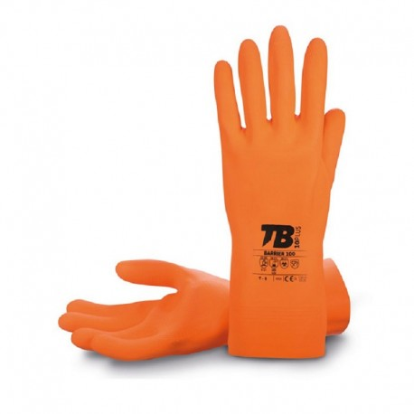 GUANTES GOMA INDUSTRIAL T-8