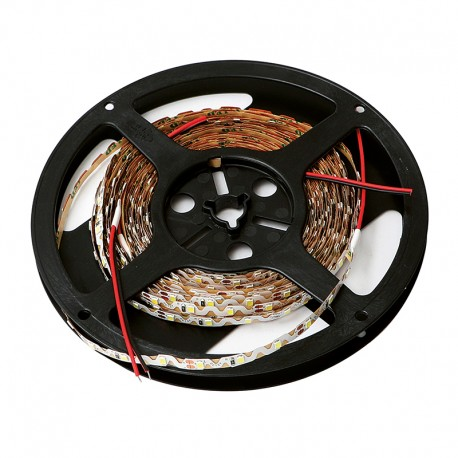 ROLLO DE CINTA SMD LED ADHESIVA DE 10 METROS 12V.DC LUZ BLANCA 6000K
