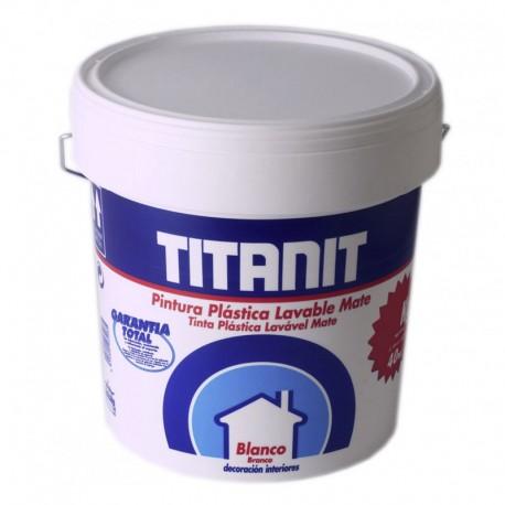 PINTURA PLAST.MATE BLANCO TITANIT 750ml