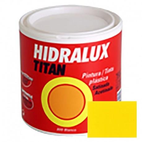 PINTURA SATINADA AMARILLA HIDRALUX 375ml