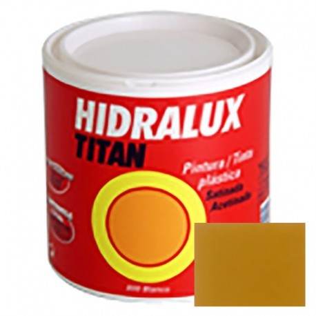 PINTURA SATINADA OCRE HIDRALUX 125ml